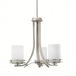 Kichler 1671NI Hendrik Collection Chandelier 3Lt