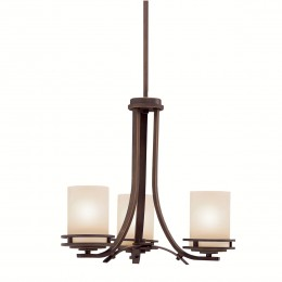 Kichler 1671OZ Hendrik Collection Chandelier 3Lt