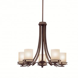 Kichler 1672OZ Hendrik Collection Chandelier 5Lt