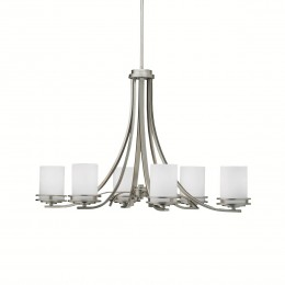 Kichler 1673NI Hendrik Collection Oval Chandelier 6Lt