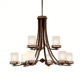Kichler 1674OZ Hendrik Collection Chandelier 9Lt