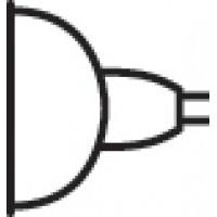 Kichler 17057 MR11 35 Watt 30 Degree Flood Halogen Bulbs 10/PK