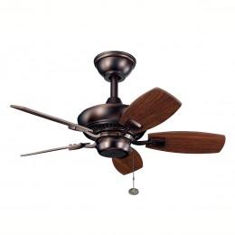 Kichler 300103OBB Oil Brushed Bronze 30 Inch Canfield Fan