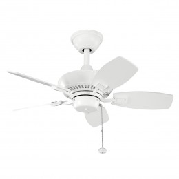 Kichler 300103WH White 30 Inch Canfield Fan