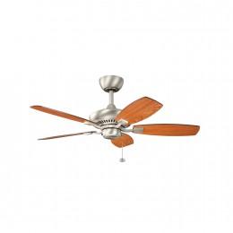 Kichler 300107NI Brushed Nickel 44 Inch Canfield Fan