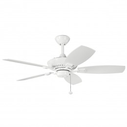 Kichler 300107WH 44 Oil Brushed Bronze Inch Canfield Fan