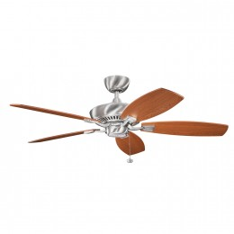 Kichler 300117BSS Brushed Stainless Steel 52 Inch Canfield Fan