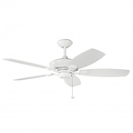 Kichler 300117WH White 52 Inch Canfield Fan