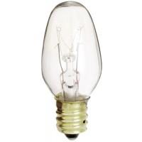 Kichler 4070CLR 10W E12 C7 Base Candelabra Incandescent Lamp 12/PK