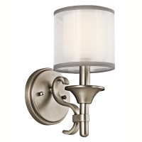 Kichler 45281AP Lacey Collection Wall Sconce 1Lt