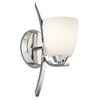 Kichler 45358CH Granby Collection Wall Sconce 1Lt