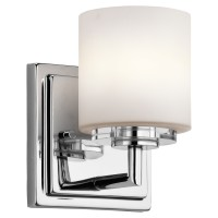 Kichler 45500CH OHara Collection Wall Sconce 1Lt Halogen