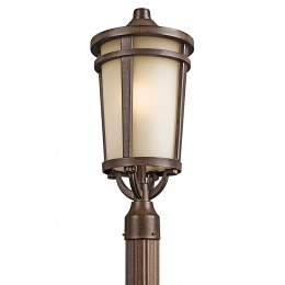 Kichler 49074BST Atwood Collection Outdoor Post Mt 1Lt