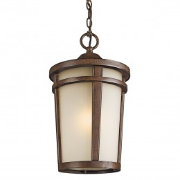 Kichler 49075BST Atwood Collection Outdoor Pendant 1Lt