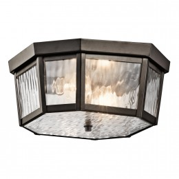 Kichler 49518OZ Rochdale Collection Outdoor Ceiling 2Lt