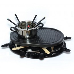 Total Chef TCRF08BN Party Grill and Fondue Set