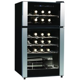 Koolatron WC29 29-Bottle Dual Zone Wine Refrigerator