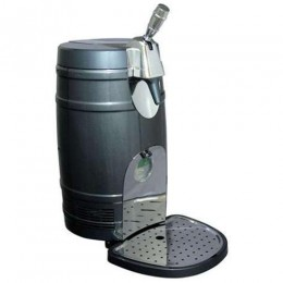Koolatron Mini Beer Keg Cooler with tap