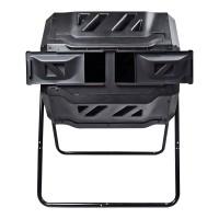 Koolatron TCB-42 Koolscapes Dual Chamber Tumbling Composter 42 Gallon