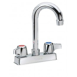 Krowne 11-400L Commercial Series Faucet 3.5in Gooseneck Spout Low Lead