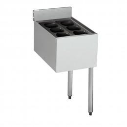 Krowne 18-12IB 1800 Series Insulated Bottle Storage Ice Bin