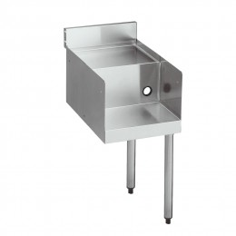 Krowne 18-12FT 1800 Series Double Blender Shelf Station