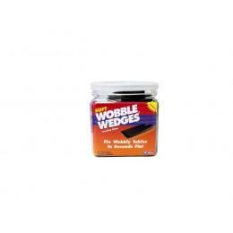 Krowne 29-158 - Wobble Wedges, Soft Black, 30-Pack