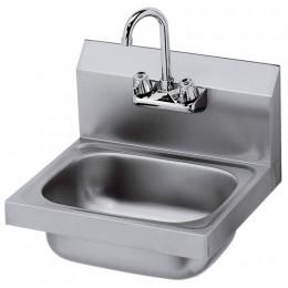 Krowne HS-2L - 16in Wide Hand Sink, Low Lead Compliant