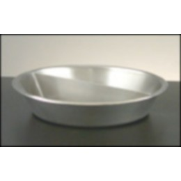 Legion 324179 Round Food Pans Full Size Stainless Steel 2 Gallon