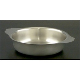 Legion 324177 Round Food Pans Full Size Stainless Steel 3 Pint