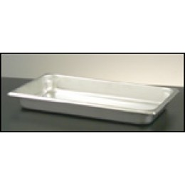 Legion 324174 Full-Size Food Pan Oblong with Partition Stainless Steel 2 Gallon