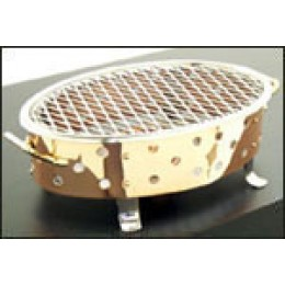 Legion 1L3E Oval Brazette Rechaud Copper 16