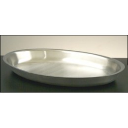 Legion 324168 Oval Food Pan Full Size With Partition Stainless Steel 2.5 Gallon