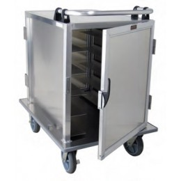 Lockwood CA36-RR5-PT-6PS Aluminum Meal Delivery Cart, 10 Tray Capacity