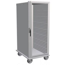 Lockwood CA55-ESIN-32CD-R Insulated Transport Cabinet, Clear Door 32 Pan Capacity