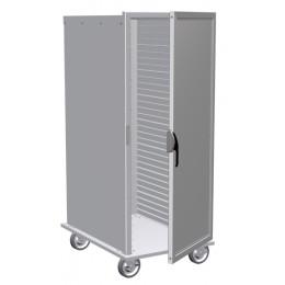 Lockwood CA55-ESIN-32ID-R Transport Cabinet, Solid Door 32 Pan Capacity