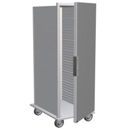 Lockwood CA61-ES36-SD-R Transport Cabinet, Solid Door 36 Pan Capacity