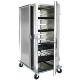 Lockwood CA66 RR10PTSDM8 Aluminum Meal Delivery Cart, 20 Tray Capacity