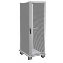 Lockwood CA67-ES40-CD-R Clear Door Storage Display Cabinet 40 Pans