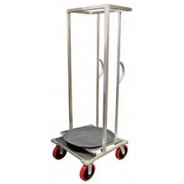 Lockwood OTC-HD-MRC Oval Tray Transport/Storage Cart