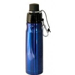 Stainless Steel Water Bottle 16 oz Blue