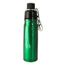 Stainless Steel Water Bottle 16 oz Green