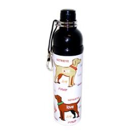 Pet Water Bottle Stainless Steel 24 oz Love