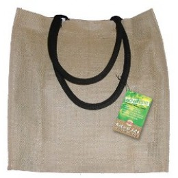 Fully laminated Jute Bags with pockets Natural