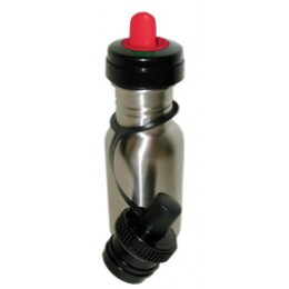Kids Stainless Steel Water Bottle 12 oz Red