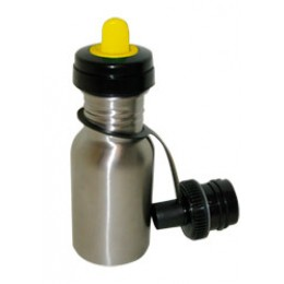 Kids Stainless Steel Water Bottle 12 oz Yellow