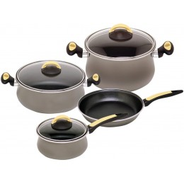 Magefesa Due Cristal Enamel On Steel 7 Piece Cookware Set
