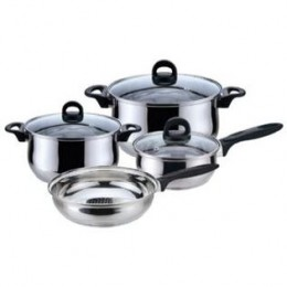 Magefesa Bohemia-Priminute Stainless Steel 7-Piece Cookware Set