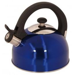 Magefesa 2.1-Quart Sabal Stainless Steel Tea Kettle Blue