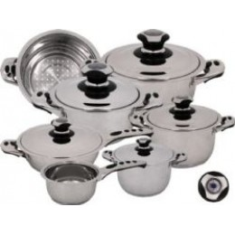 Magefesa Ecotherm Plus 12 Piece Cookware Set